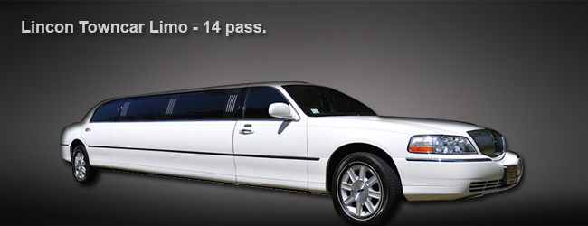 14 pass. White limo