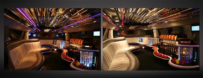 Hummer H2 limousine Interior